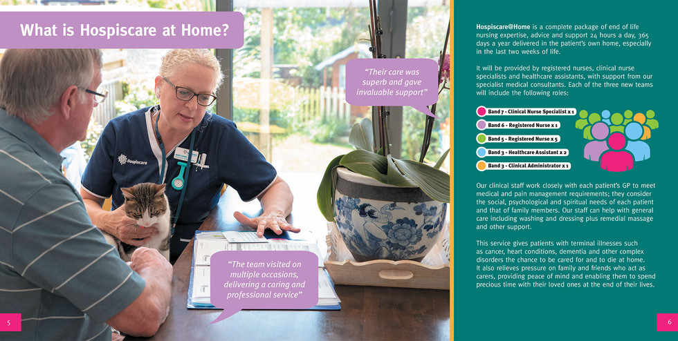 Hospice at home inside image
