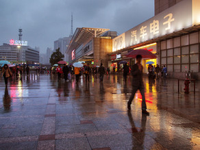 A night on the town, whatever the weather