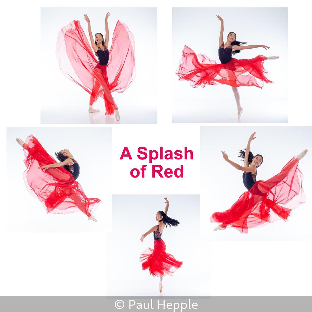 A Splash of Red ©Paul Hepple