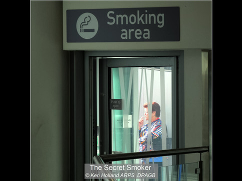 The secret smoker
