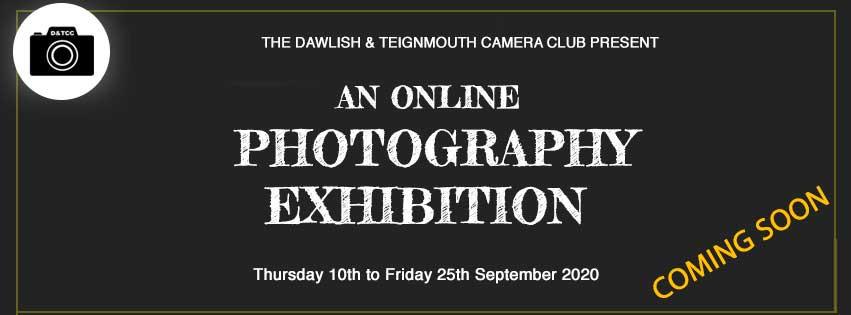 Online exhibition poster