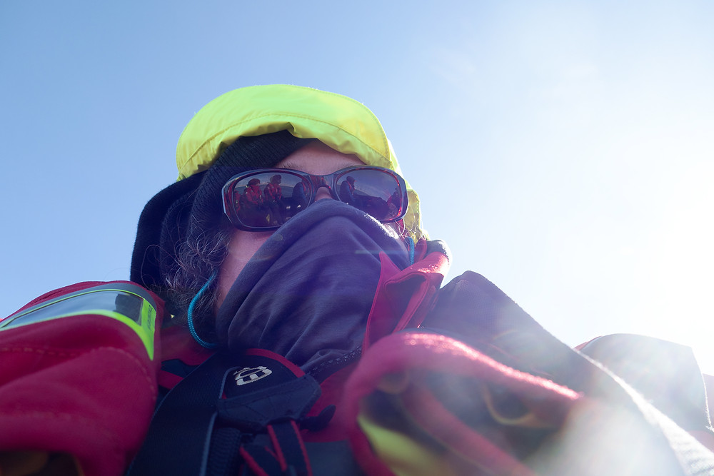 me in Svalbard