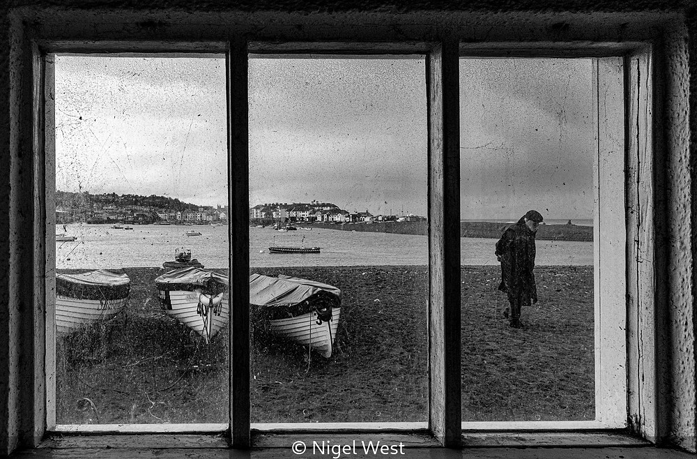 Alone by the sea ©Nigel West