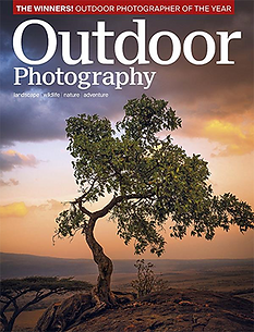 Outdoor Photography Magazine cover.