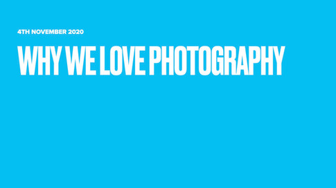 Why we love photography