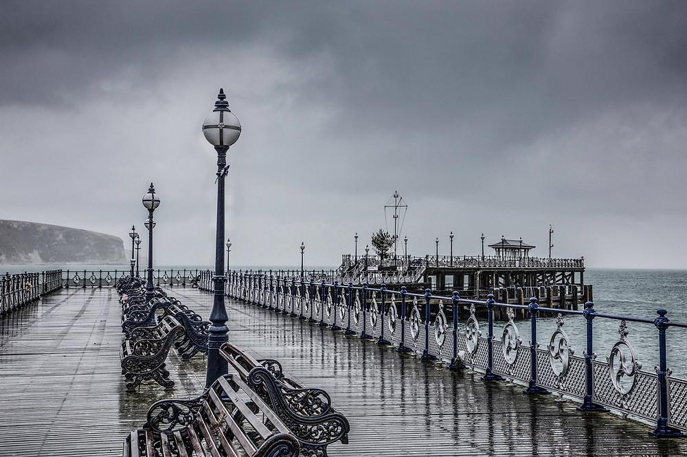 Swanage Pier © Tony Worobiec