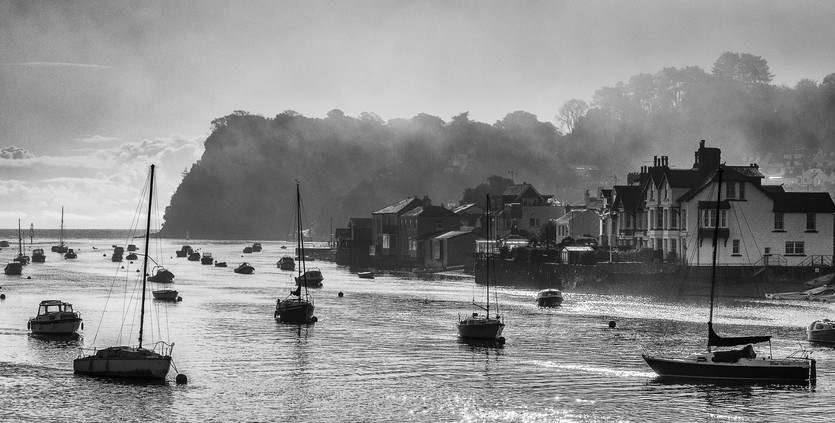 Misty Morning, Shaldon