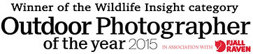 OPOTY Outdoor Photographer of The Year Winner Wildlife Insight