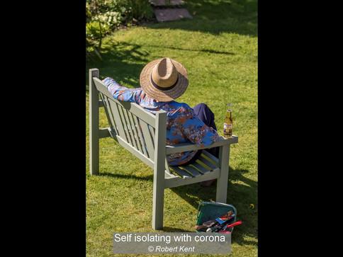 Self isolating with Corona