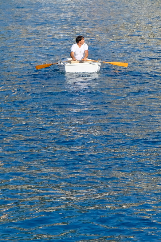 Rowing to the edge