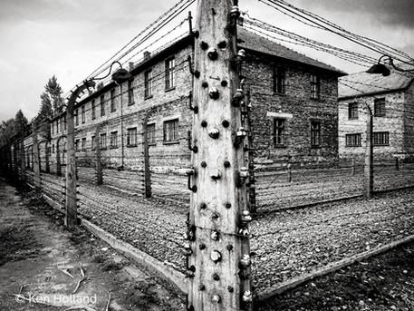 Electric fence, Auschwitz
