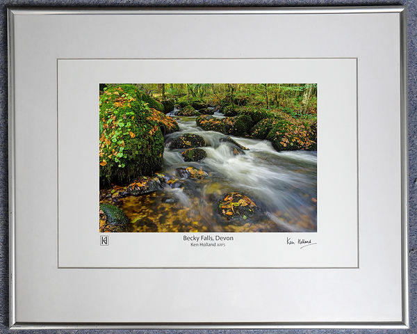 Becky Falls in frame for auction © Ken Holland