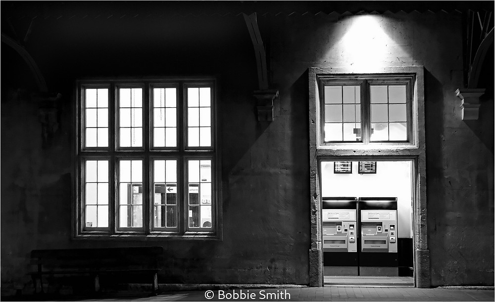 The station after dark ©Bobbie Smith