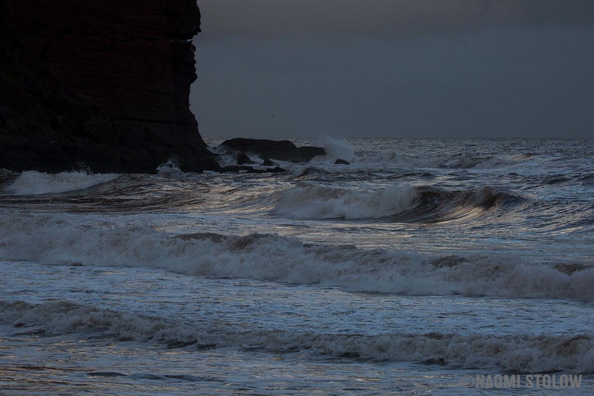 The sea at Holcombe