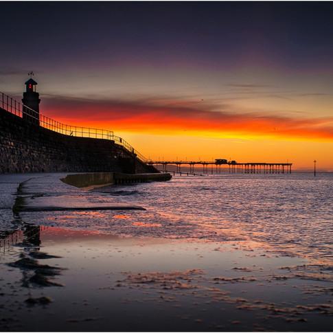 Sunrise at Teignmouth