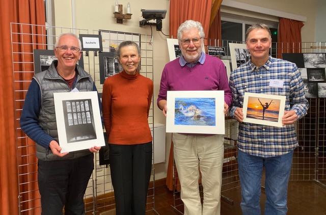 Kevin McDonagh, Kay Wilson, Bob Normand and Paul Hepple