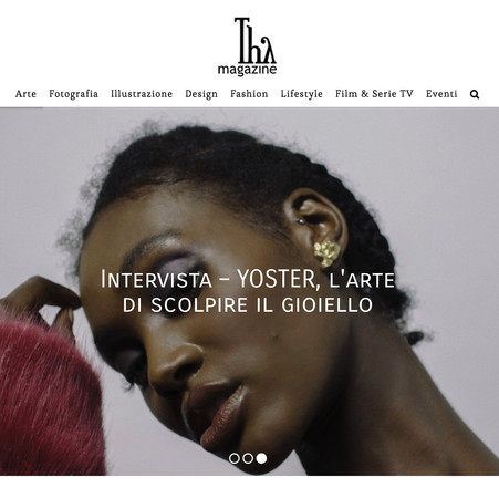 interview for THY MAGAZINE Italy