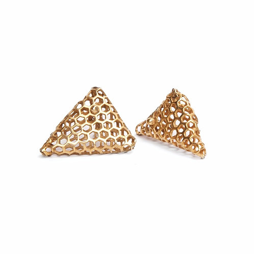 BEE Triangular Earrings