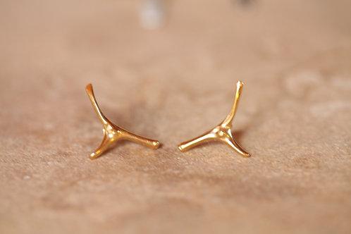Bone Earrings Yoster X Sabina Musáyev