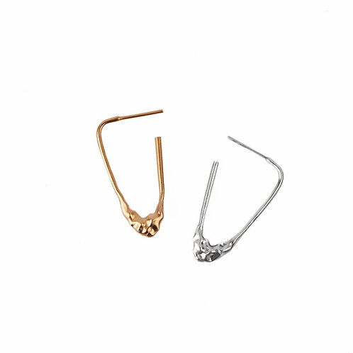 1&1 Melted Earrings
