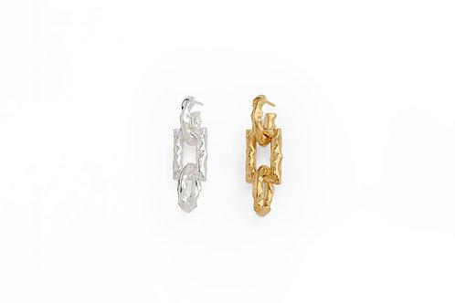Shapes Chain Earrings