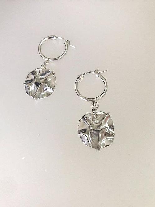 YOSTER X JF Organic Coin Earrings