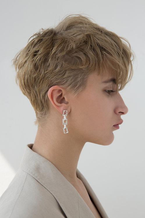 Chain No.2 Single Earring