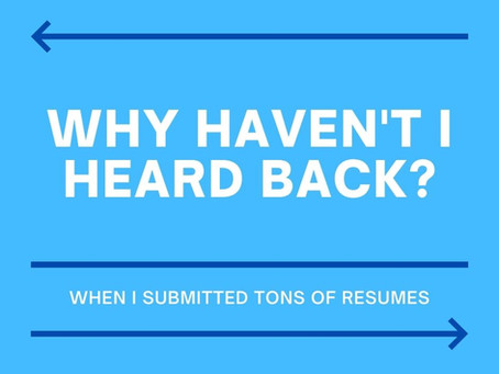 STILL NOT GETTING RESPONSES TO YOUR JOB APPLICATIONS?