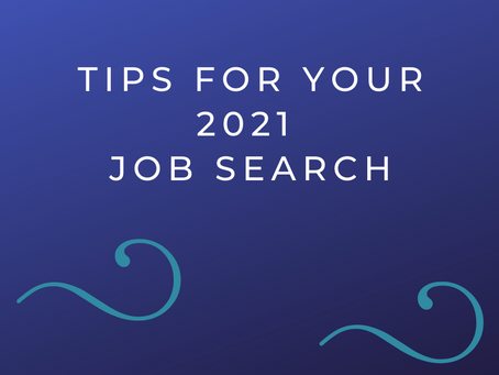 GEAR UP FOR YOUR 2021 JOB SEARCH