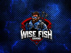 Wise Fish Gaming - Mascot Logo