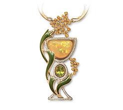 эксклюзивное золотое колье
