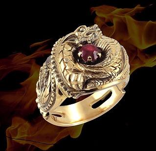 дракон нью.jpgзолотой перстень с драконом и рубином