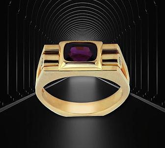 золотое кольцо со шпинелью арт-студия ювелир