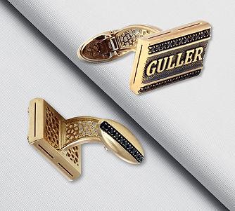 золотые запонки на заказ арт-студия ювелир