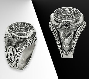 кольцо амулет