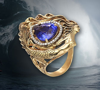 золотое кольцо русалка