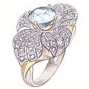 эскиз кольца