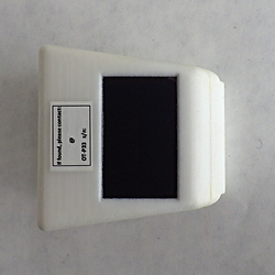 Patagial solar powered GPS GSM transmitter OrniTrack-P33 top view