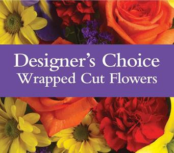 Designer Choice - Wrapped Cut Flowers