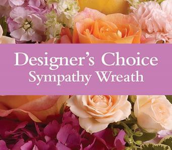 Designer's Choice Sympathy Wreath