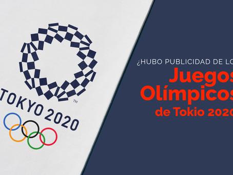 ¿Hubo publicidad de los Juegos Olímpicos de Tokio 2020?