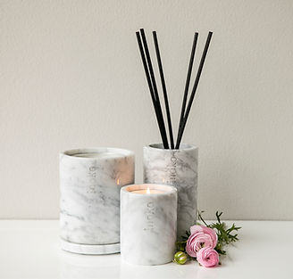 Marble Candle Holders
