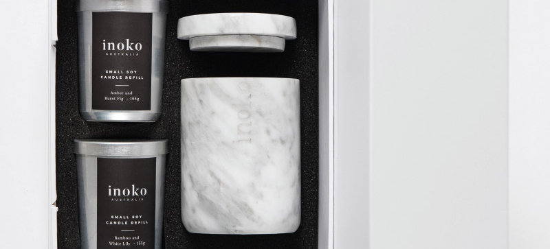 MARBLE SMALL GIFT SET