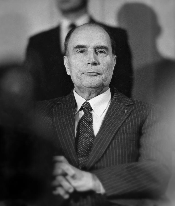 François Mitterrand, 1982.