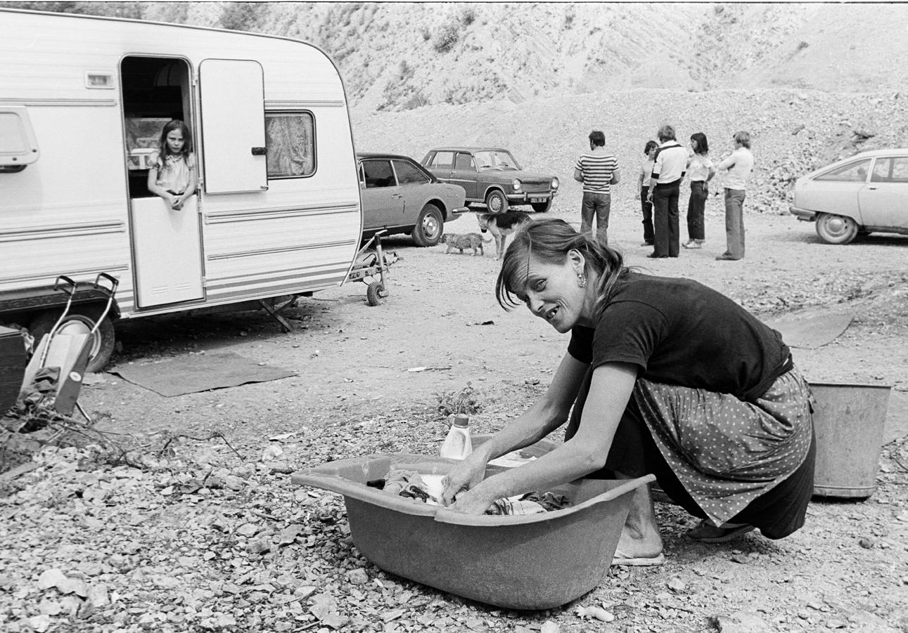Gens du voyage, France 1981