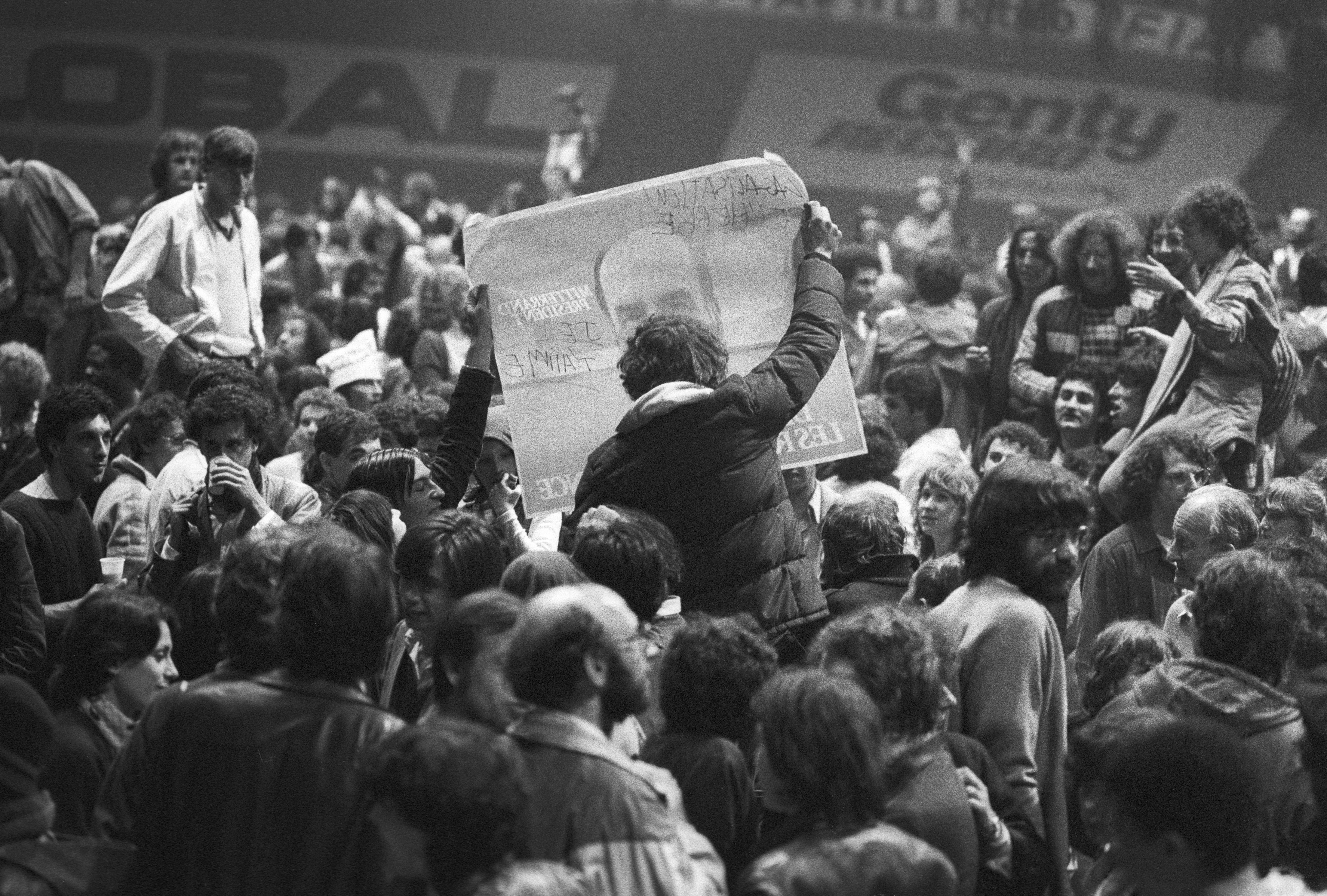 10 mai 1981, France. Élection de Fra