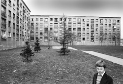 Banlieue. 1978, Grenoble,  France.