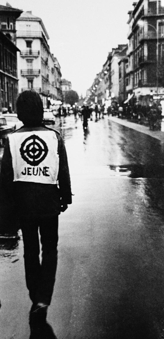 Fin de manif, France 1973.