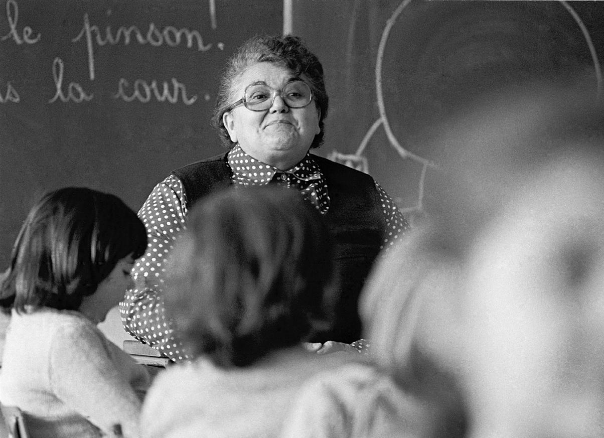 L'institutrice, France, 1982
