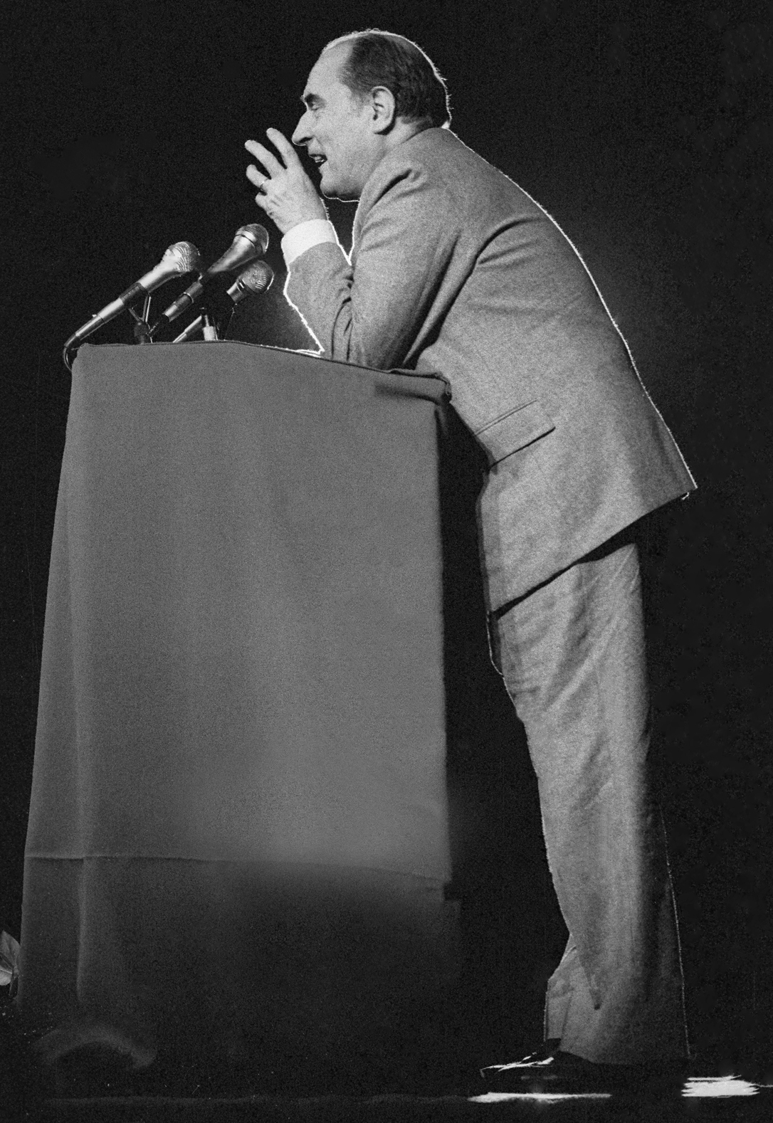 François Mitterrand, 1981.